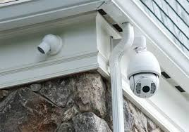 Wired or wireless home security system