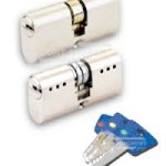 Locksmiths blue keys
